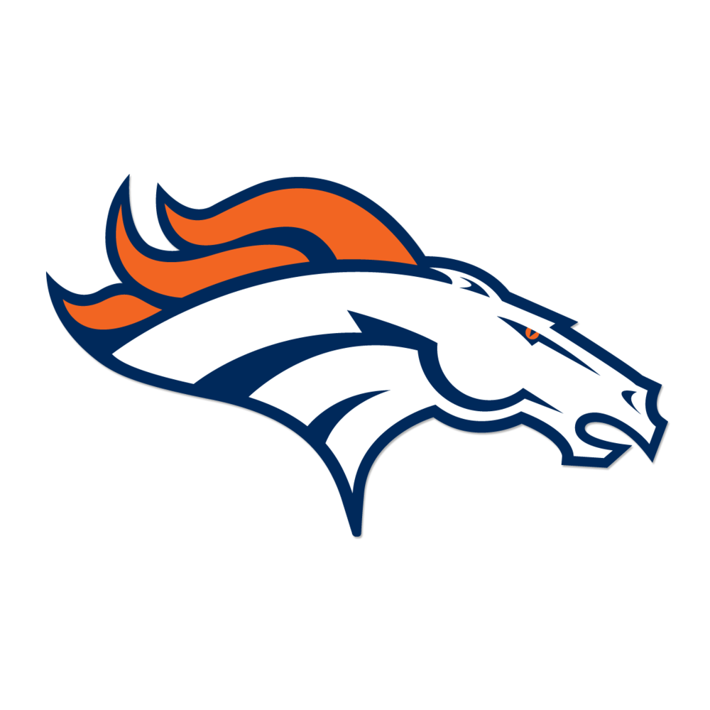 png black and white library HOW The Denver Broncos Brand Was Created