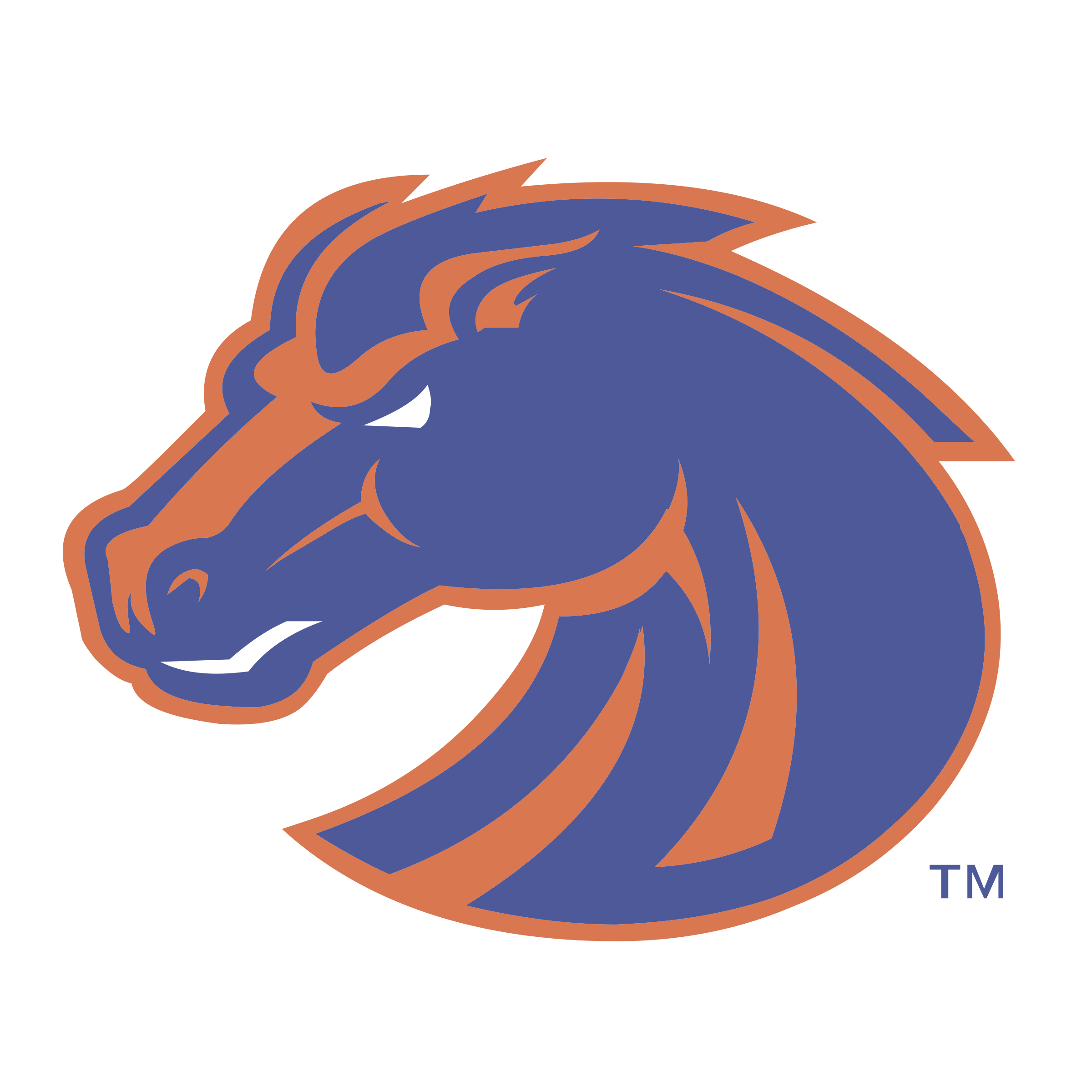 svg royalty free library Boise State Broncos Logo PNG Transparent