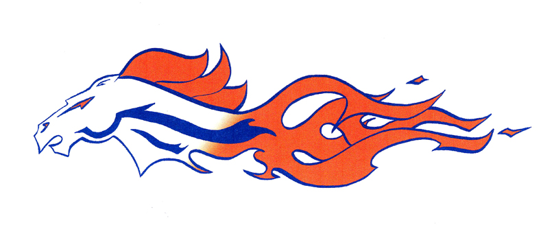 clipart free Broncos Tattoo by Wolvris on DeviantArt