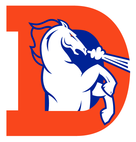 graphic free download Denver Broncos Clipart at GetDrawings