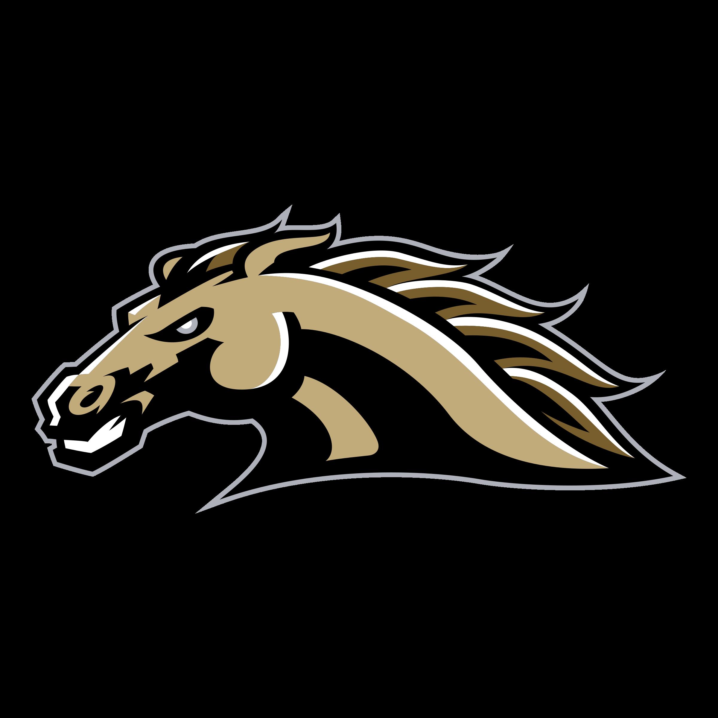 image Broncos svg head. Wmu logo png transparent