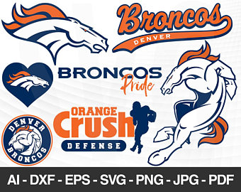 picture royalty free stock Broncos svg