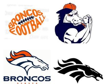 picture free library Broncos template