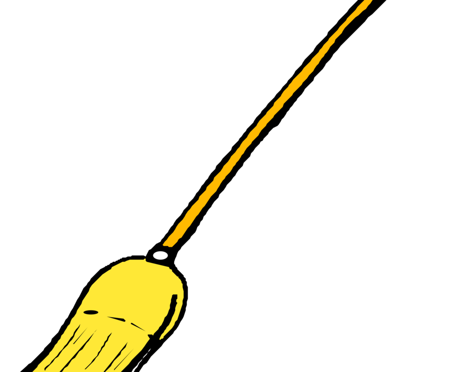 clip freeuse stock Broom Mop Dustpan Cleaning Besom free commercial clipart