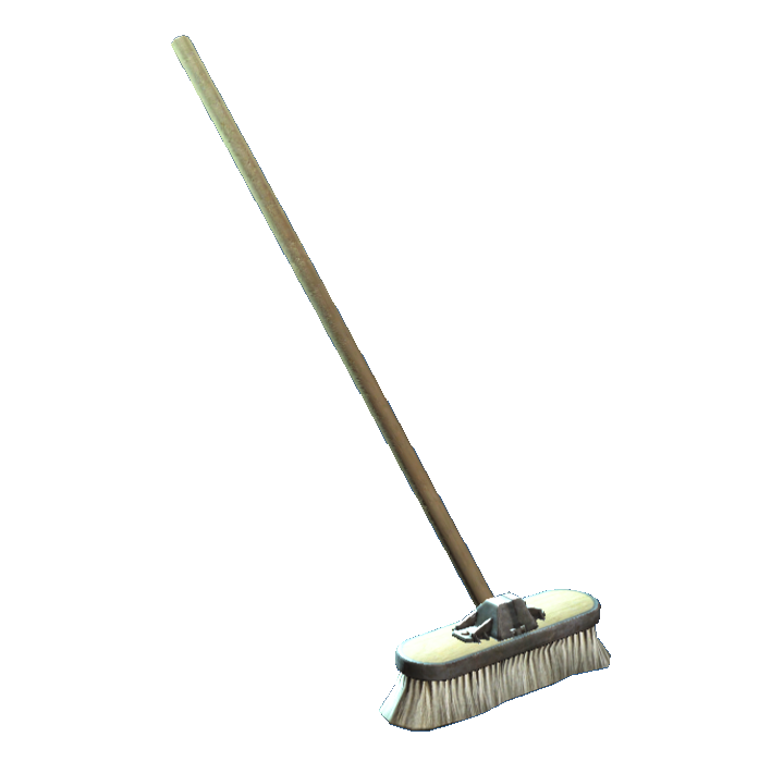 banner library broom transparent cleaning #110150397