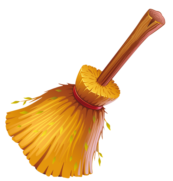 picture black and white library Broom clipart. Witch png halloween pinterest