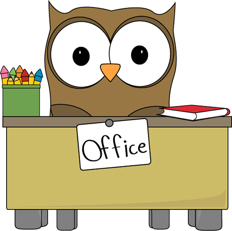 vector free download Owl office assistant clip. Broom clipart classroom