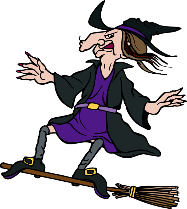 picture free download Great witch clip art. Broom clipart fancy