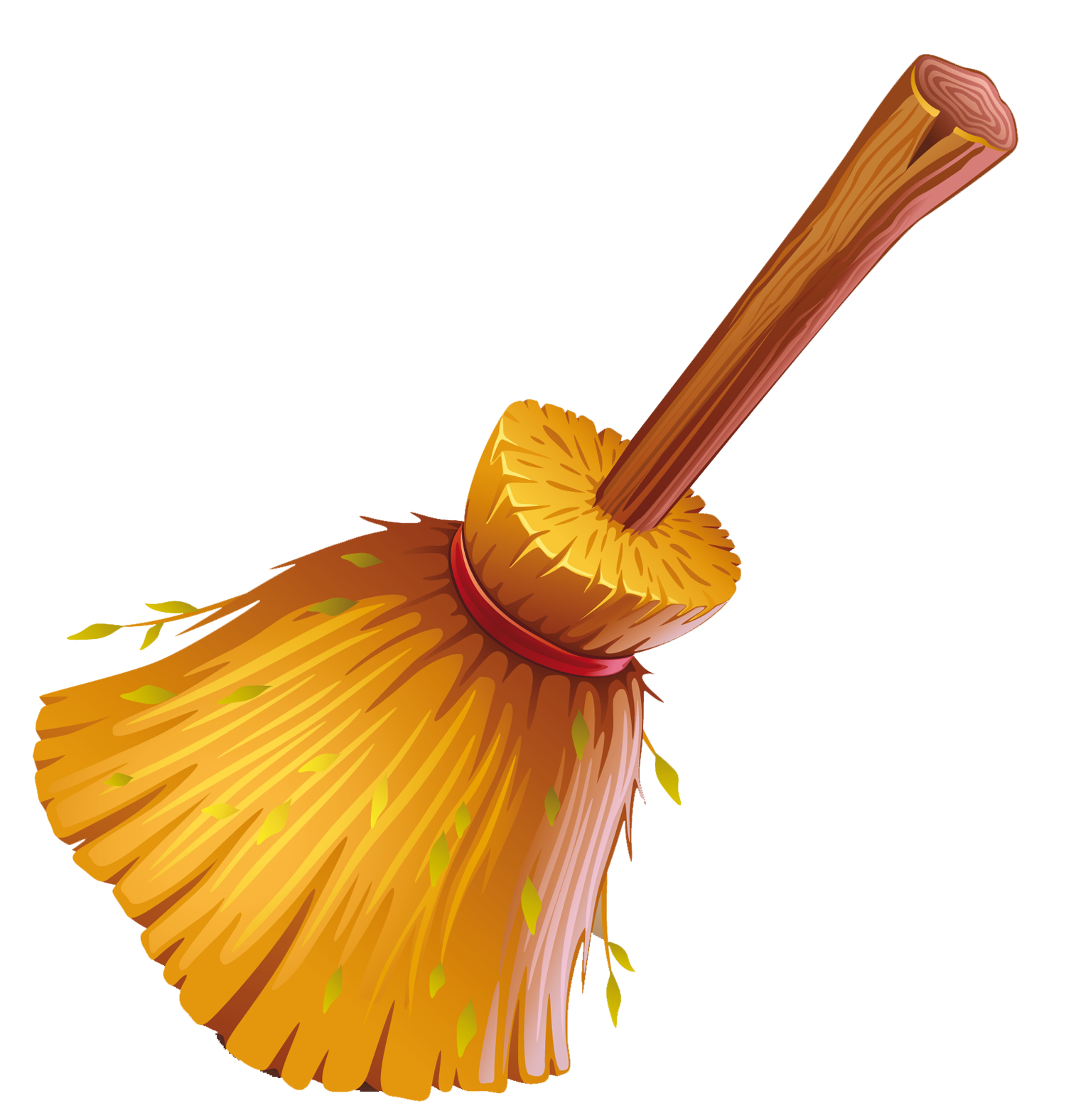 jpg . Broom clipart golden
