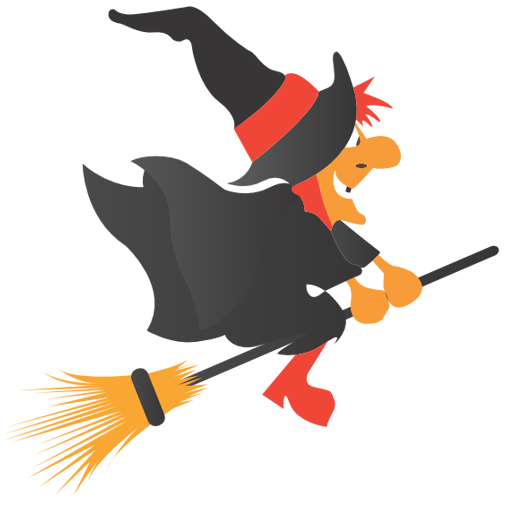 jpg freeuse library Broom clipart halloween. By csscreme com witch
