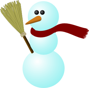 png library Clip art at clker. Broom clipart snowman