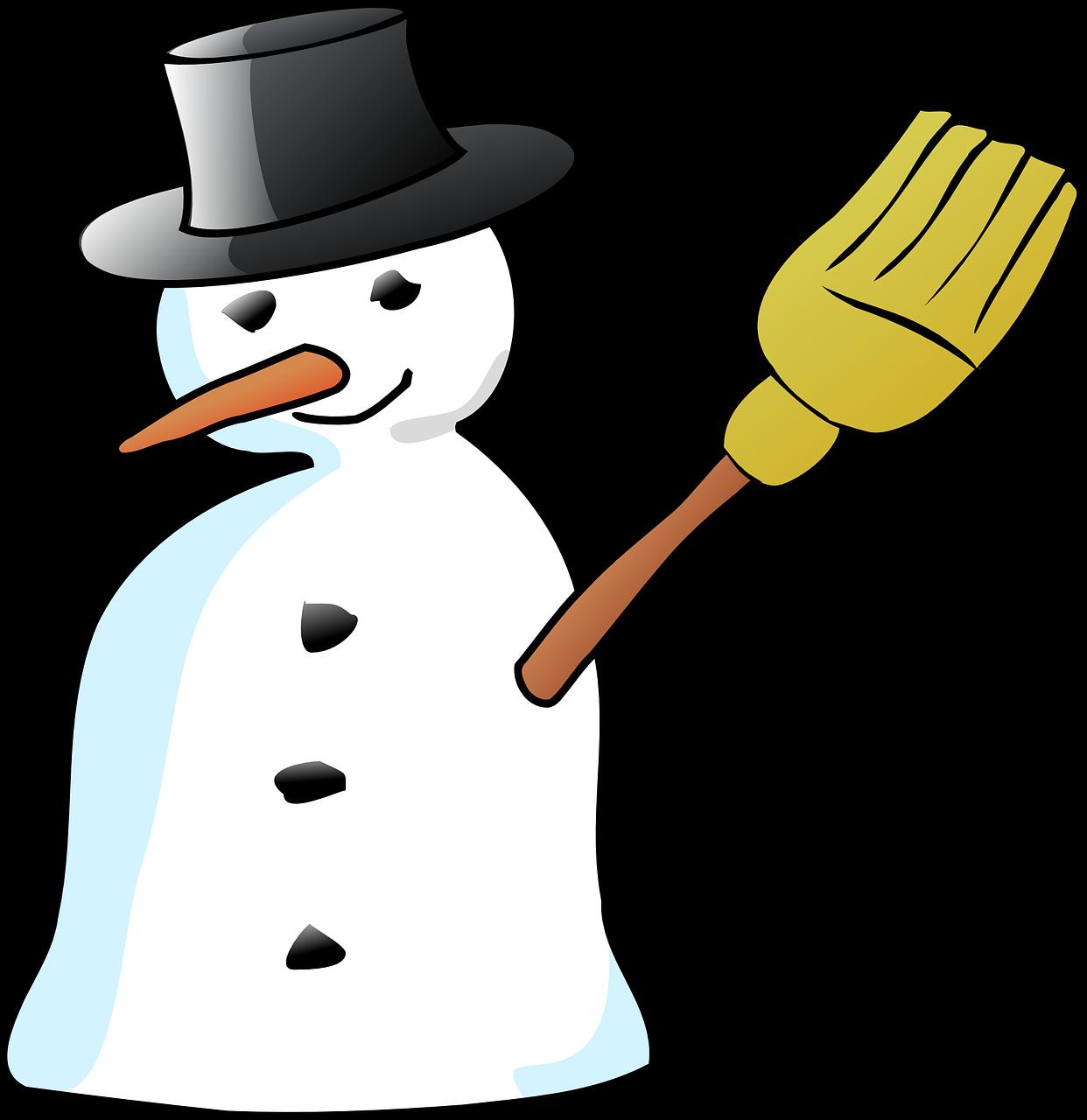 vector download Broom clipart snowman. Hat carrot stick transparent