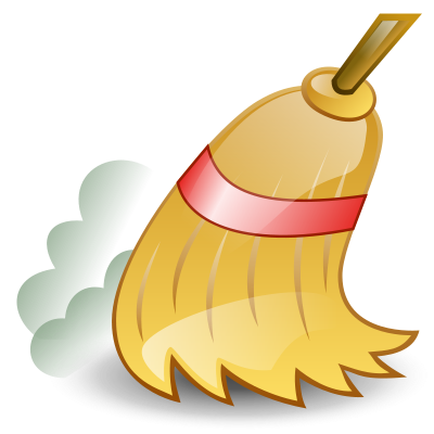 picture freeuse library Clean quest for life. Broom clipart sweep kitchen.