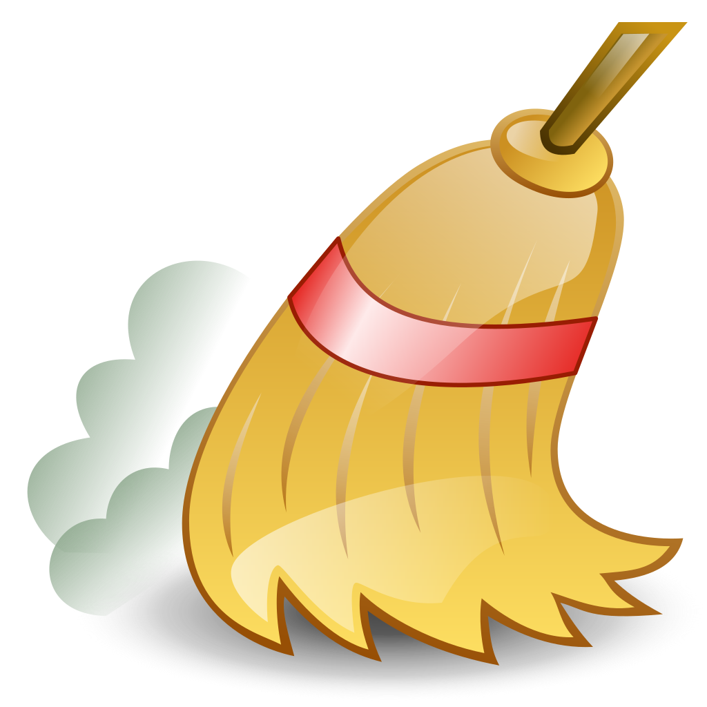 picture freeuse Ficheiro icon svg wikip. Broom clipart sweeping broom