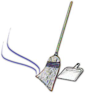 download Broom clipart sweeping broom. Free images at clker