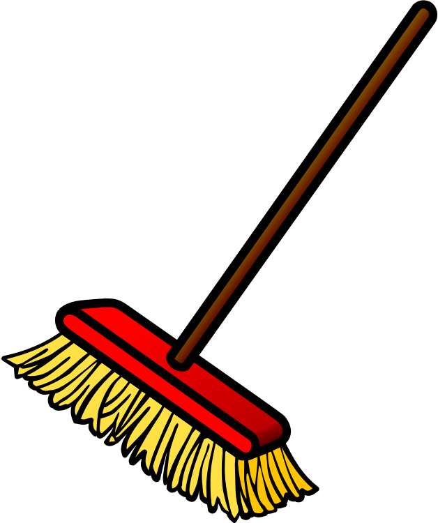 graphic royalty free library  png for free. Broom clipart