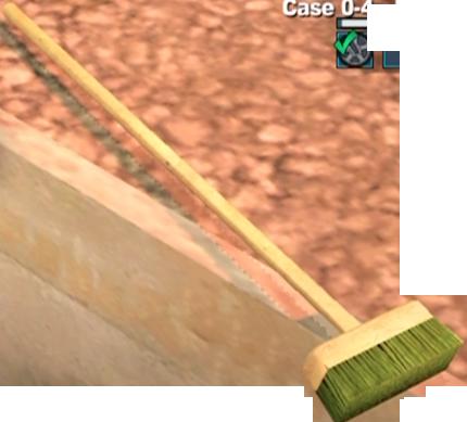 banner stock Push Broom