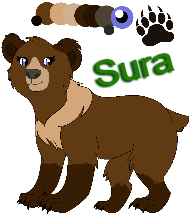 vector library library Oc sura by raindroplily. Brother clipart brother bear