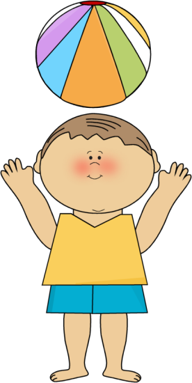 jpg freeuse download Brother clipart kid. Kids at the beach