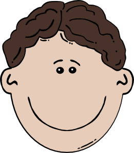 jpg download Boy face cartoon clip. Brothers clipart aboy
