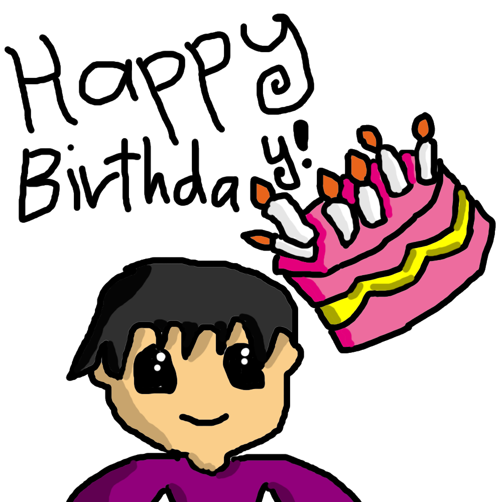 clipart black and white stock Happy birthday my friend. Brothers clipart cousin