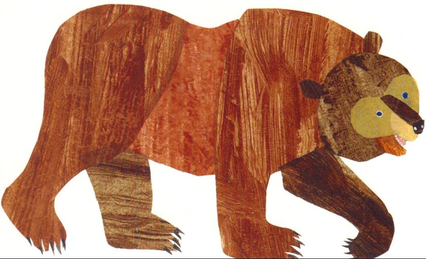 jpg freeuse Brown bear brown bear clipart. Eric carle png transparent