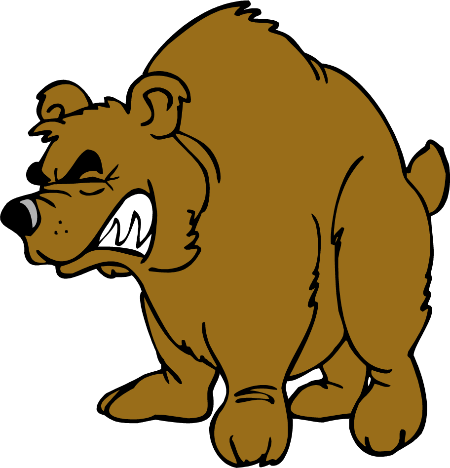 jpg free download Grizzly clip art angry. Brown bear brown bear clipart