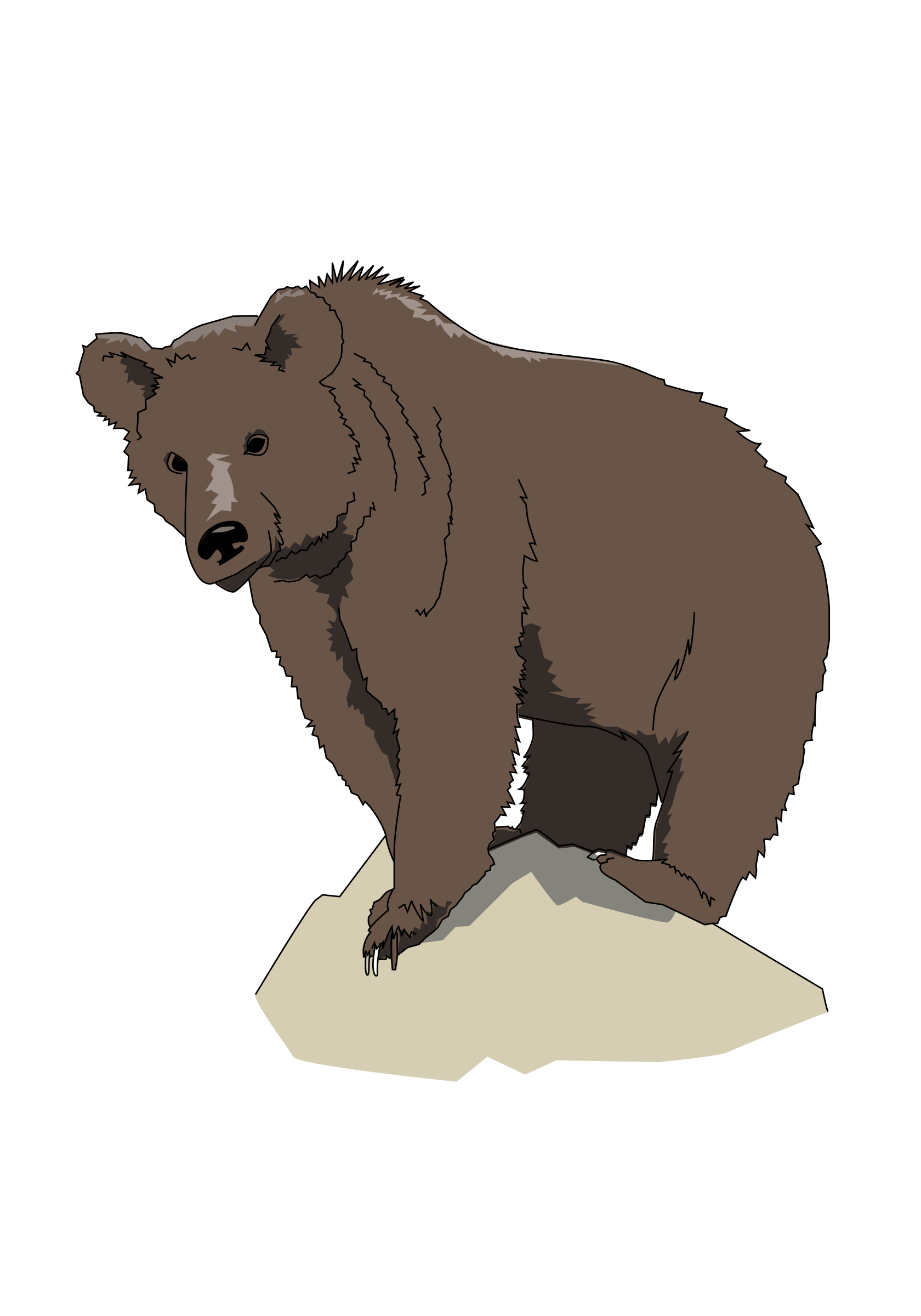 picture royalty free download Brown bear brown bear clipart.