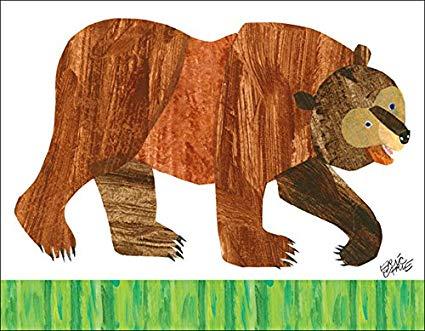 svg freeuse Amazon com oopsy daisy. Brown bear brown bear clipart