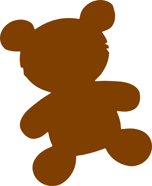 graphic royalty free Brown bear clipart. Clip art at clker