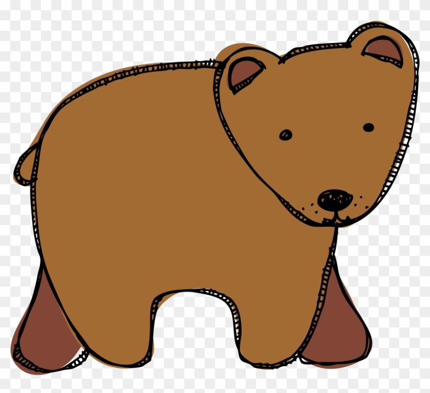 svg library Portal . Brown bear clipart