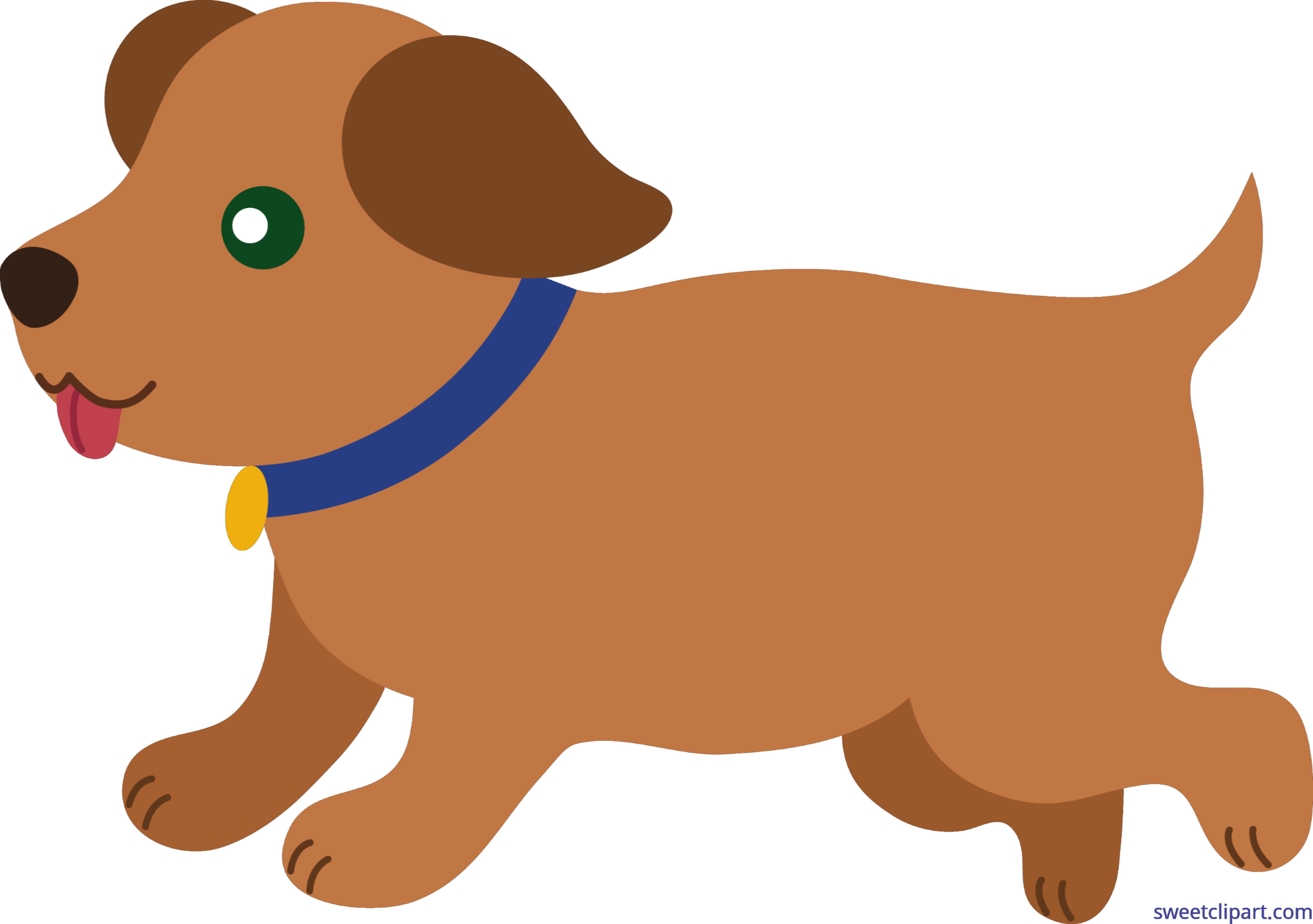 clip royalty free download Puppy Brown Clip Art