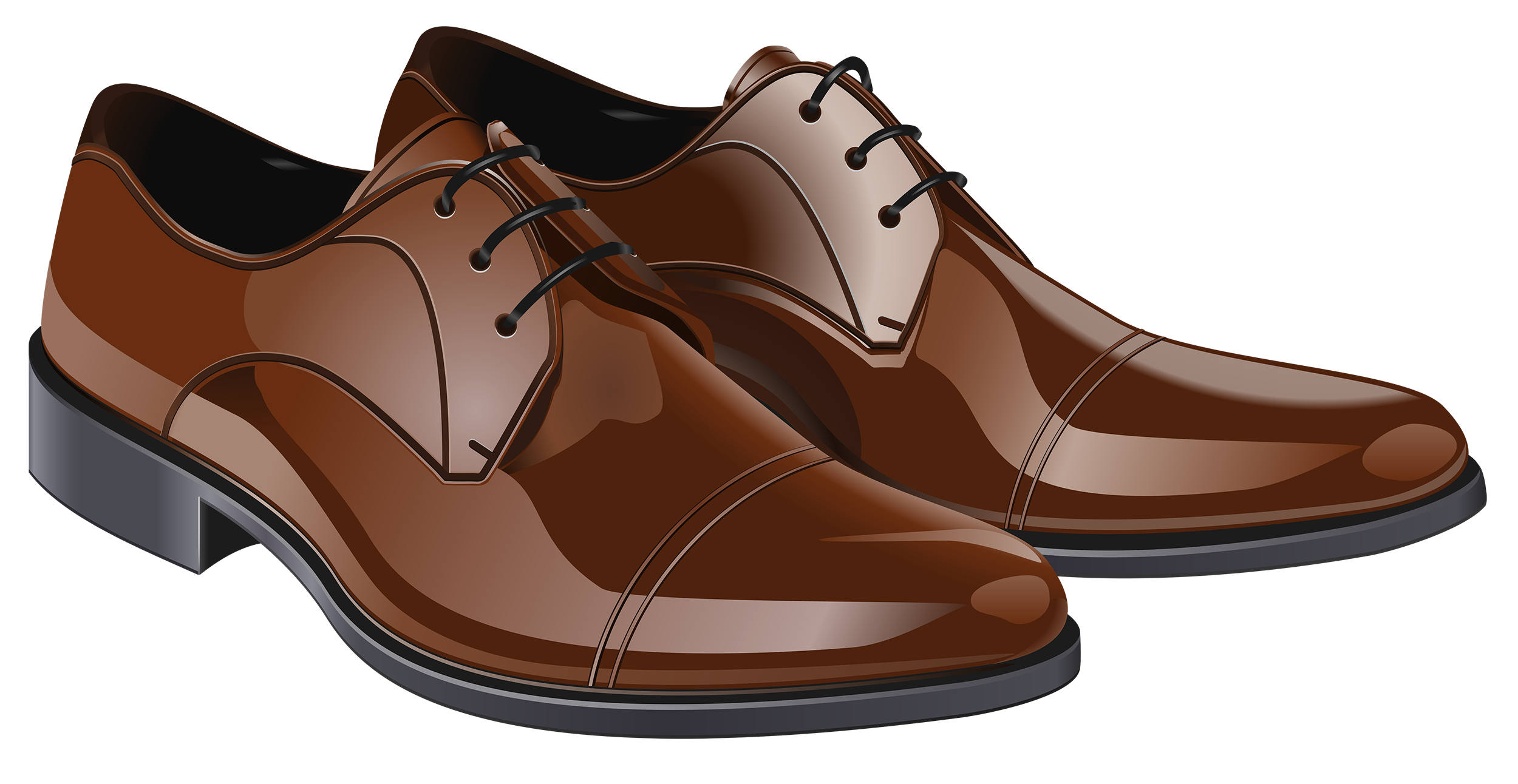 image Brown clipart. Men shoes png best