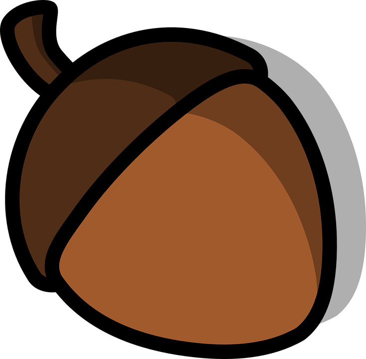 free library Brown clipart acorn. Free on dumielauxepices net