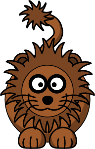 png library download Lion frames illustrations hd. Brown clipart cartoon