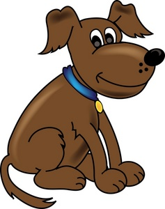 clipart transparent library Free dog cliparts download. Brown clipart doggie