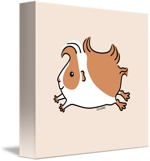 vector black and white download Leaping and white by. Brown clipart guinea pig