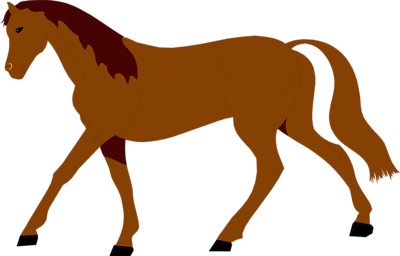 clip art library Brown Horse Clipart