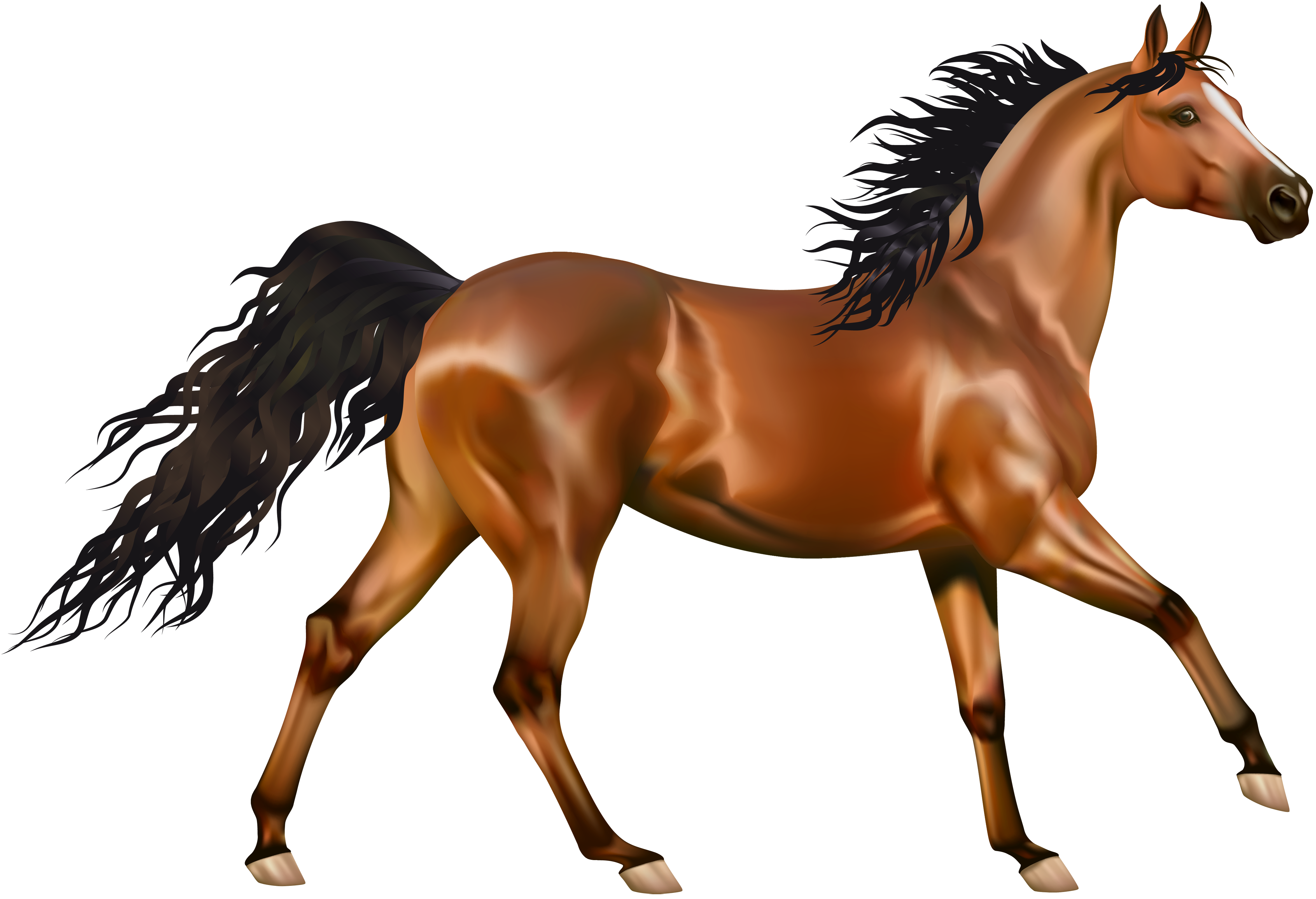vector free library Brown clipart horse. Transparent png gallery yopriceville
