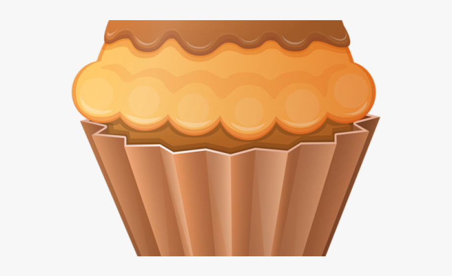 freeuse stock Brown clipart muffin. Cupcake free cliparts on