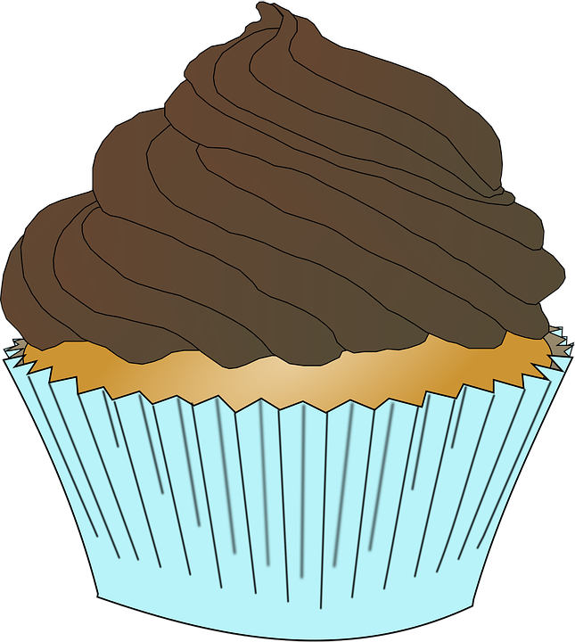 vector black and white Food free on dumielauxepices. Brown clipart muffin
