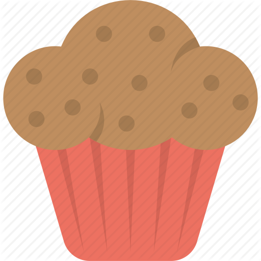 picture library library Brown clipart muffin. Food by creative stall