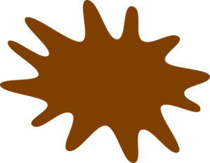 png freeuse library Clip images royalty best. Brown clipart paint splatter