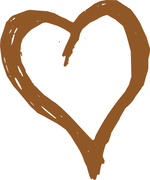 clipart royalty free stock Brown clipart paint splatter. Heart clip art at