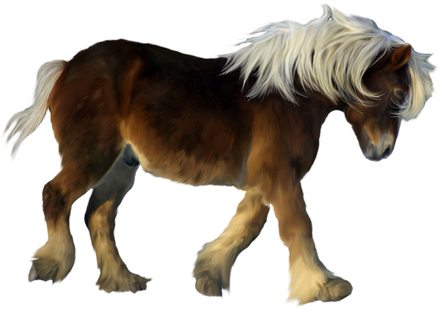 png royalty free stock D png gallery yopriceville. Brown clipart pony
