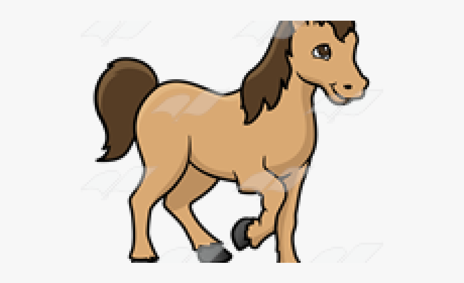 image royalty free library Brown clipart pony. Thing cliparts cartoons