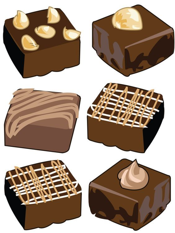 png free stock Brownie clipart. Brownies clip art clipartfest