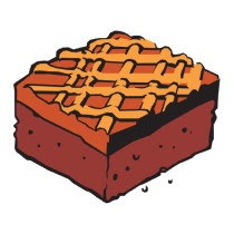 jpg library download Brownies clipart. Free chocolate brownie cliparts.