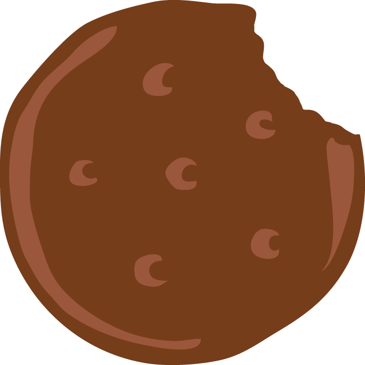 picture royalty free download Brownie clipart. Cookies clip art little.