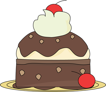 banner stock Sundae clip art food. Brownie clipart.